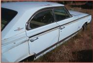 1964 Mercury Park Lane Marauder 4 Door Hardtop right rear side view