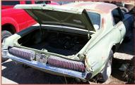 1968 Mercury Cougar 2 Door Hardtop 302/3 right rear view