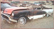 1956 Oldsmobile Super 88 convertible project car left front view