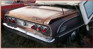 1963 Mercury Comet Special S-22 convertible for sale $5,500 right rear view