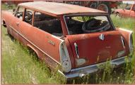 1957 Plymouth Deluxe Suburban 2 Door Station Wagon For Sale left rear view