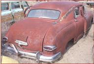 1949 Kaiser Special 4 Door Sedan right rear view