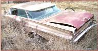 1959 Pontiac Bonneville Custom Vista 4 Door Hardtop left rear view