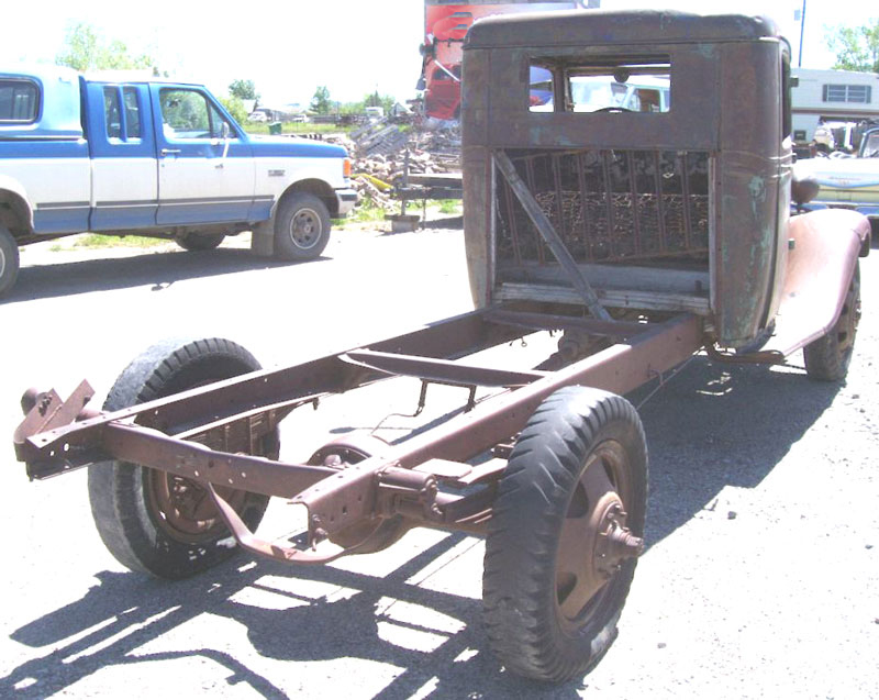 1935 Chevrolet One Ton Truck For Sale