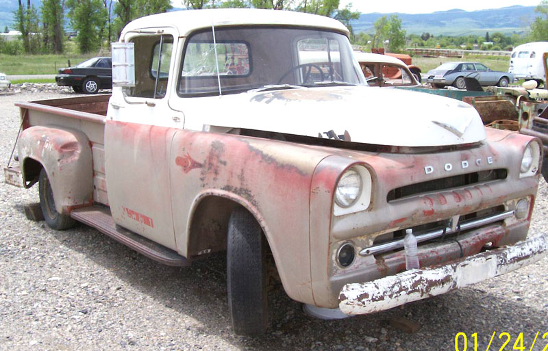 1957 Dodge D100 1/2 Ton Pickup with DeSoto Hemi