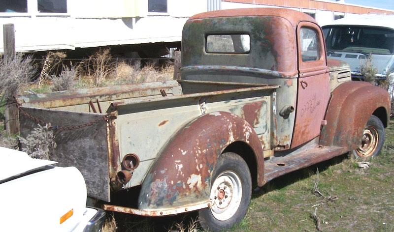 1946 ford model 83 1 2 ton pickup truck. Black Bedroom Furniture Sets. Home Design Ideas