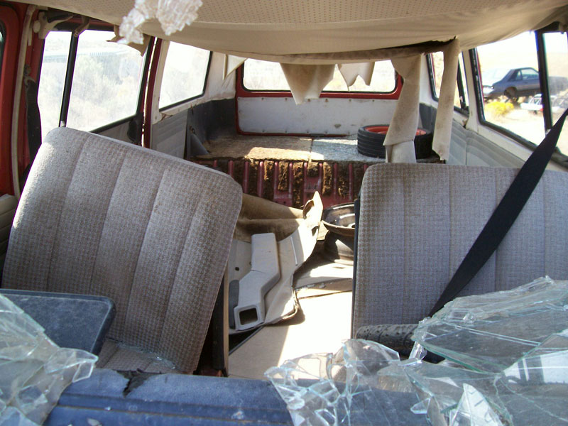 1968-72 Volkswagen Bay-window transporter kombi station wagon