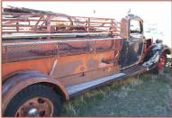 1936 Ford Model 51 Fire Tanker Truck right rear view