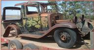 1932 Chevrolet Confederate Canopy Express Produce Truck right front view