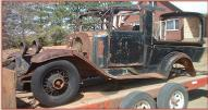 1932 Chevrolet Confederate Canopy Express Produce Truck left front view
