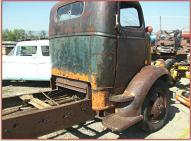 1939 Chevrolet COE Cab-Over-Engine 2 Ton Truck right rear cab view