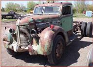 1939 Diamond T Deluxe Cab Model 614D 1 1/2 Ton Truck left front view