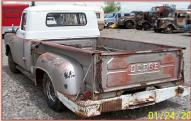 1957 Dodge D100 1/2 Ton Pickup with DeSoto Hemi left rear view