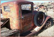 1933 Ford Model BB V-8 1 1/2 Ton Flatbed Truck right rear cab view