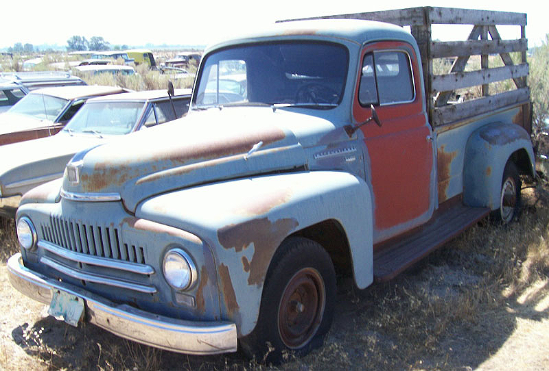 1952 Ihc International L 120 Lwb 3 4 Ton Pickup