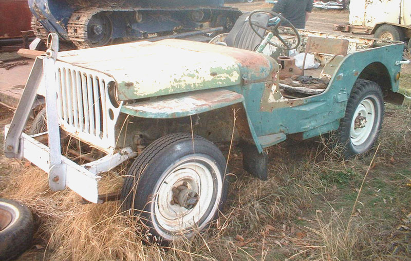 1944 Ford GPW World War II Jeep-Type 4X4 Utility Vehicle For Sale