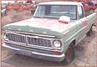 1970 Ford F-100 1/2 Ton Styleside Pickup Truck left front view