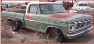 1970 Ford F-100 1/2 Ton Styleside Pickup Truck right front view