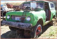 1962 IHC International Scout 80 4X4 Utility Vehicle left front view