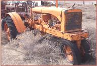 1935 Allis-Chalmers WC Row Crop Farm Tractor right front view