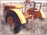 1935 Allis-Chalmers WC Row Crop Farm Tractor left rear view