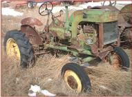 1948 John Deere Model LA Farm Tractor right front view