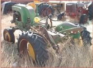 1948 John Deere Model LA Farm Tractor left rear view