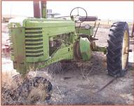 1952 John Deere Model MT Farm Tractor left front view