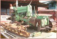 1957 John Deere Model 420C Crawler left rear view