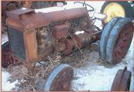 1922 Fordson Industrial Tractor with PTO Winch left front view