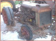 1922 Fordson Industrial Tractor with PTO Winch right front view