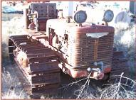 1945 IHC International TD-6 Diesel Crawler right front view
