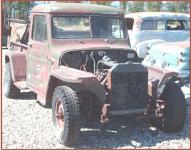 1947 Willys Jeep 4X4 One Ton Pickup with Ford V-8 right front view