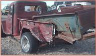 1947 Willys Jeep 4X4 One Ton Pickup with Ford V-8 left rear view