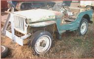 1944 Ford GPW World War II Jeep-Type 4X4 Utility Vehicle left front view
