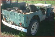 1944 Ford GPW World War II Jeep-Type 4X4 Utility Vehicle right rear view