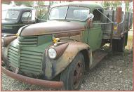 1946 GMC 2 Ton Hoist Box Dump Truck left front view