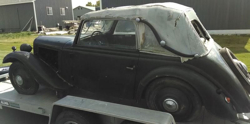 restorable foreign classic vintage cars for sale. Black Bedroom Furniture Sets. Home Design Ideas