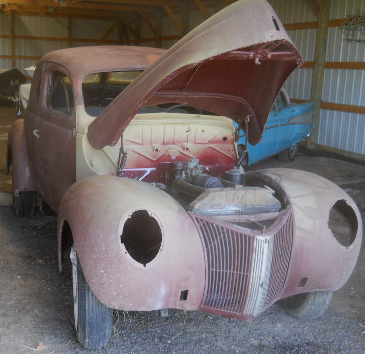 Restorable Ford Classic & Vintage Cars For Sale 1940-54