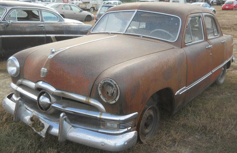 1950 Ford Custom 4 door sedan #2 for sale $2500 & Restorable Ford Classic \u0026 Vintage Cars For Sale 1940-54
