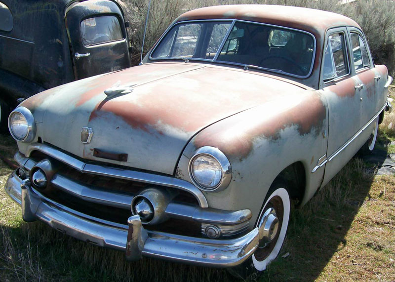 Restorable ford classic vintage cars for sale 1940 54 for 1951 ford 4 door sedan