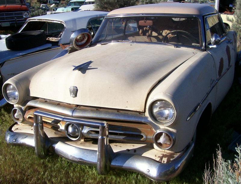 Restorable ford classic vintage cars for sale 1940 54 for 1953 ford crestline victoria 2 door hardtop