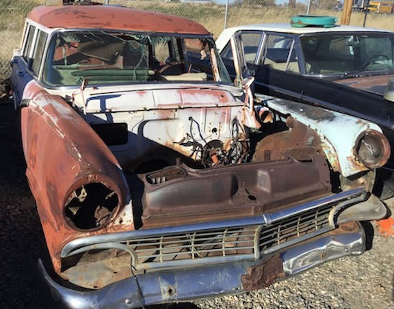 Restorable Classic & Vintage Ford Cars For Sale 1955-60