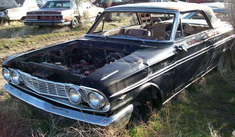 Restorable Ford Classic Project Cars For Sale 1961-65