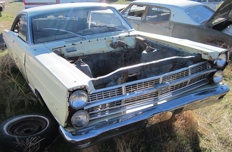 1966 ford fairlane project car for sale