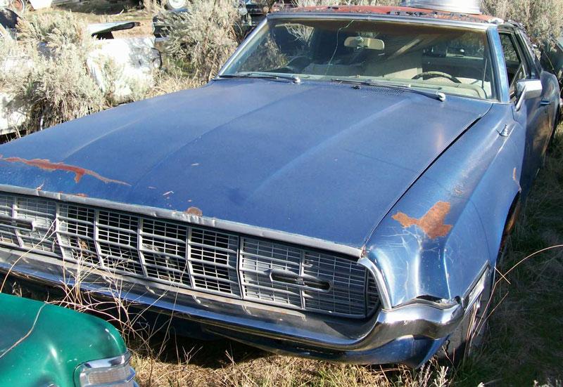 1968 Ford Thunderbird 2 Door Hardtop For Sale 3500