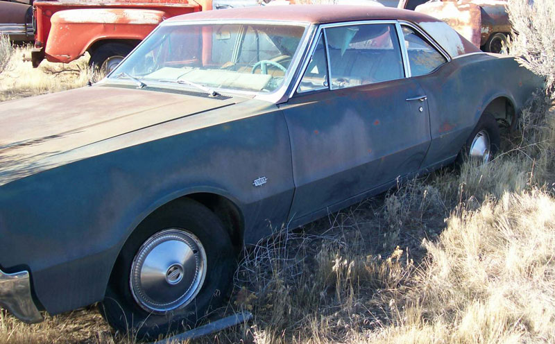 Restorable Oldsmobile Classic Project Cars For Sale 1966 79