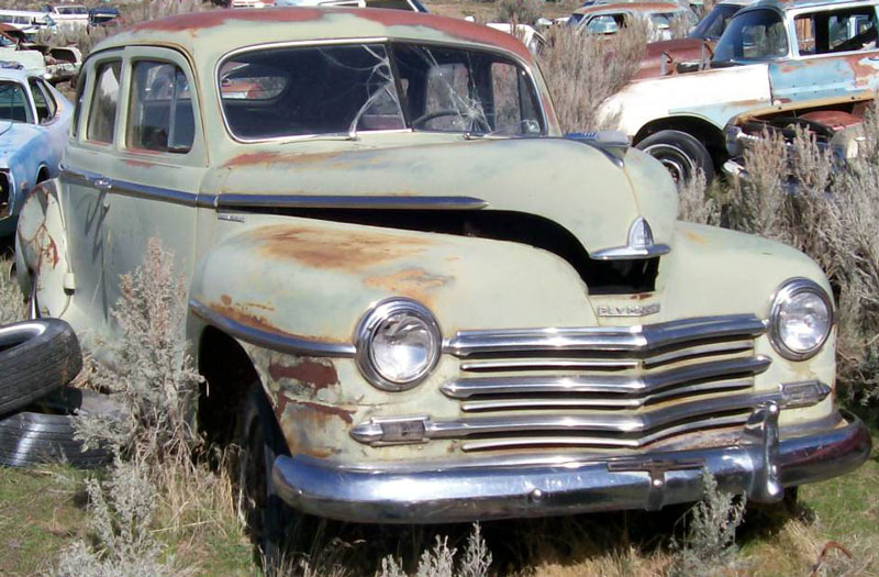 1950 plymouth special deluxe 4 door for sale