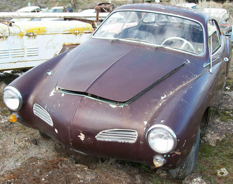 1968 VW Volkswagen Karmann Ghia 2 Door Coupe For Sale $4,000