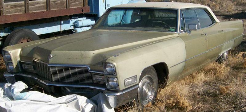 1968 Cadillac Sedan DeVille 4 Door Hardtop For Sale